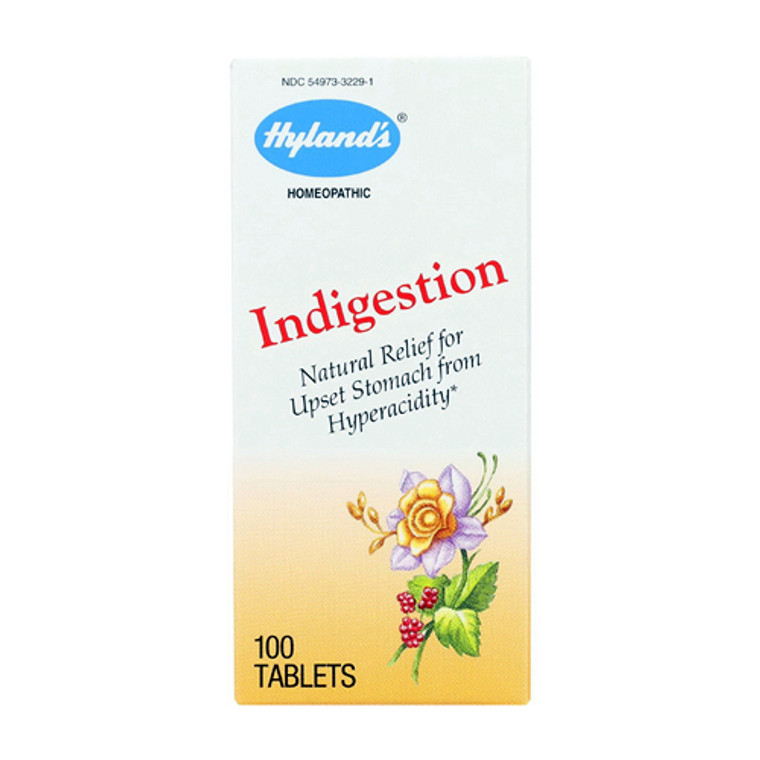 Hylands Indigestion Homeopathic Tablets, 100 Ea