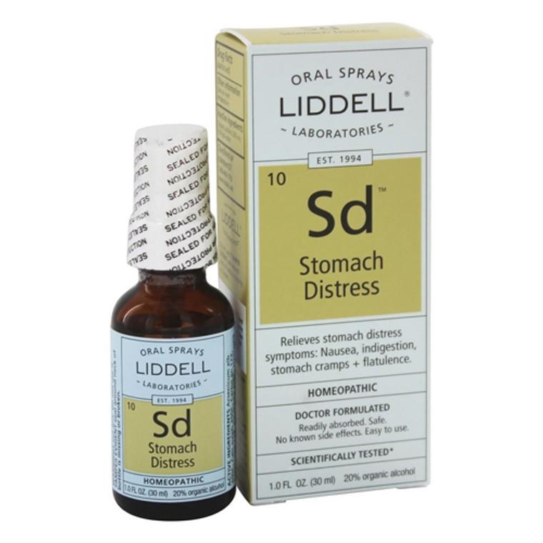 Liddell Laboratories Stomach Distress, Homeopathic Oral Spray, 1 Oz
