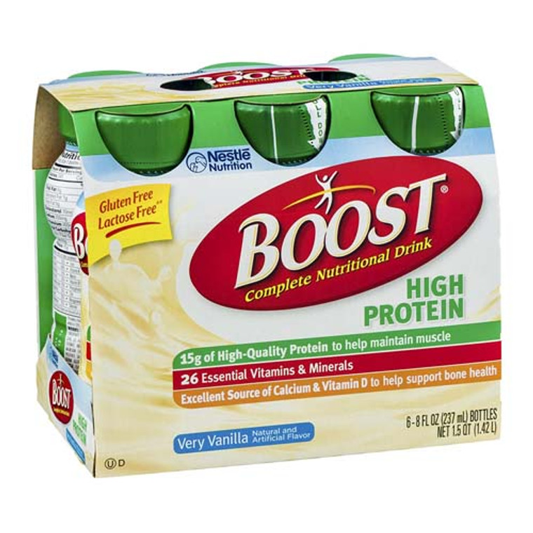 Boost High Protein Nutritional Energy Drink With Vanilla Flavor - 8 Oz / Can, 24 Cans