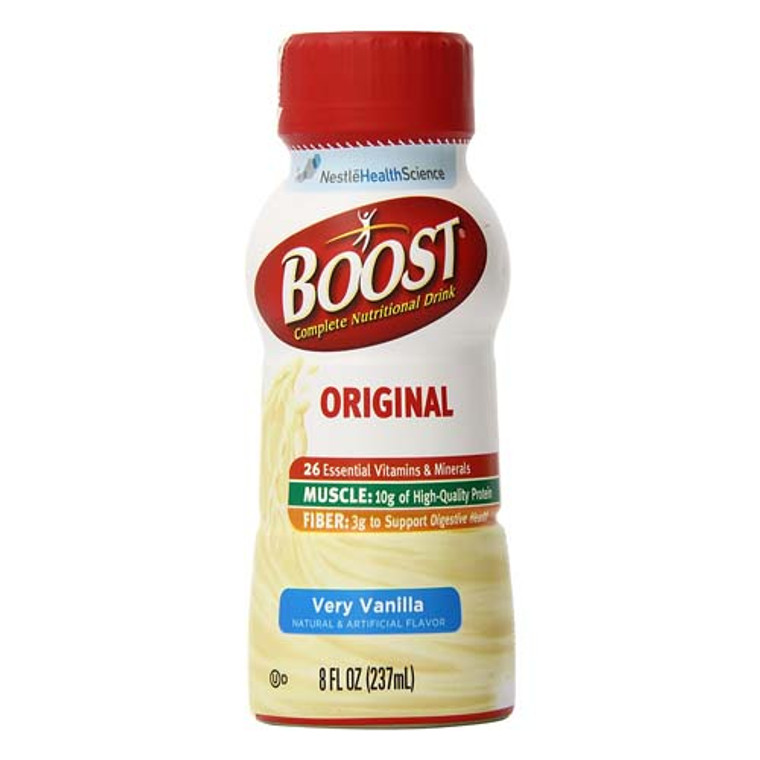 Boost Nutritional Energy Drink, Vanilla Flavor  - 8 Oz / Can, 24 Cans