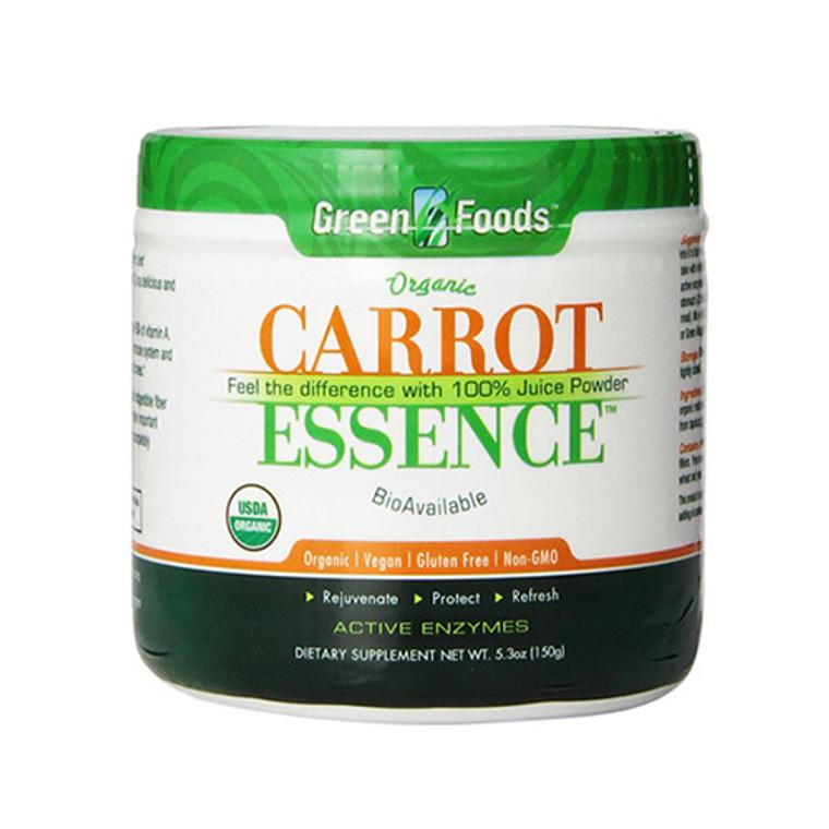 Green Foods Organic Carrot Essence Powder - 5.3 Oz