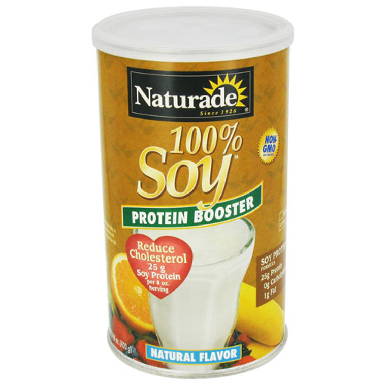 Naturade 100 Percent Soy Protein Booster Natural Flavor - 14.8 Oz
