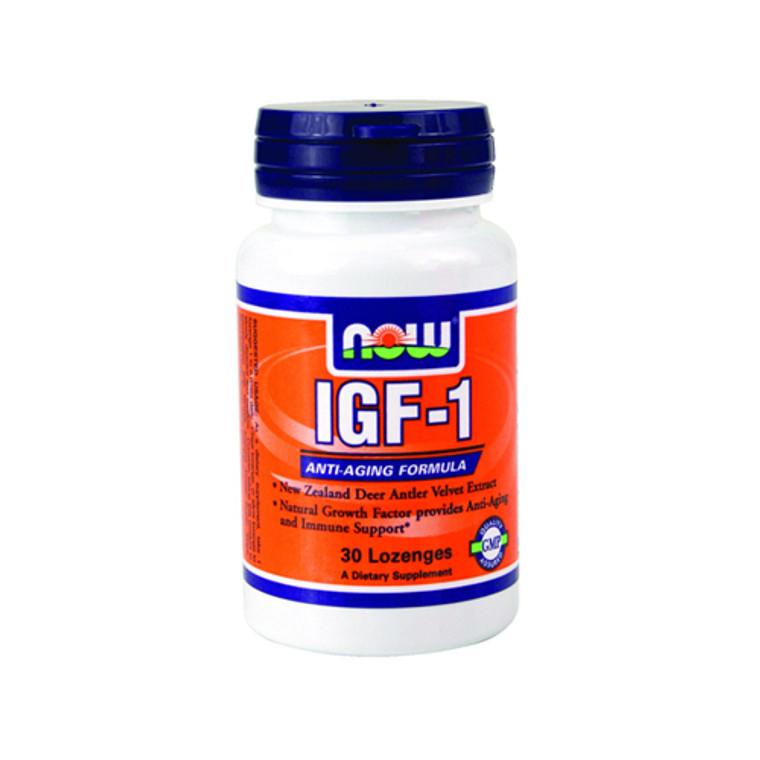 Igf - 1 Anti Aging Formula 33 Mg By Now Food Formula - 30 Lozenges