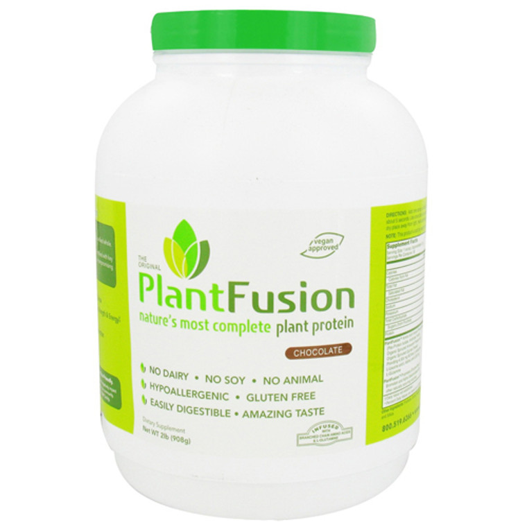 Plantfusion Natures Most Complete Plant Protein, Chocolate - 2 Lbs