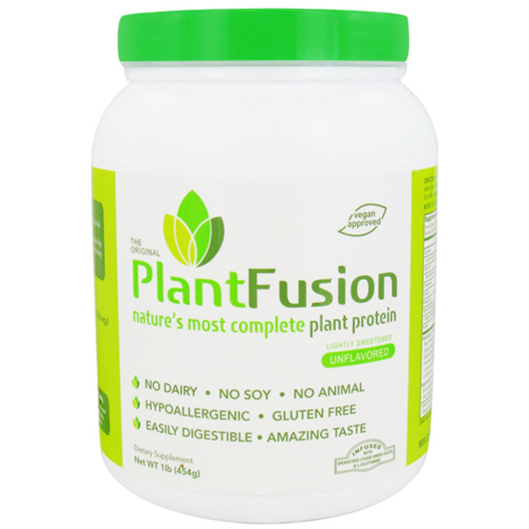Plantfusion - Natures Most Complete Plant Protein Lightly Sweetened - 1 Lb