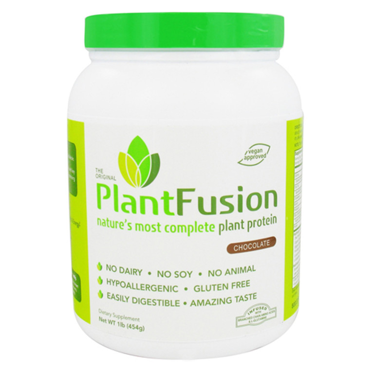 Plantfusion Natures Most Complete Plant Protein, Chocolate - 1 Lb