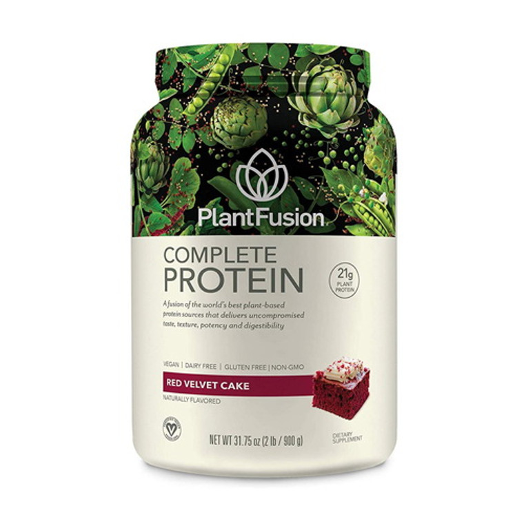 PlantFusion Complete Plant Protein Red Velvet Cake, 2 Lb