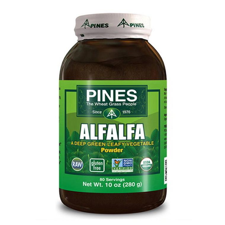 Pines Wheat Grass People 280 Gm Alfalfa Powder - 10 Oz