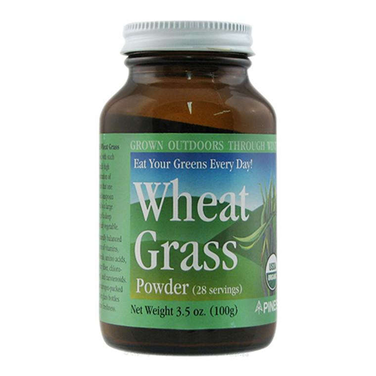 Pines Green Energy 100% Pure Wheat Grass Powder, 3.5 oz