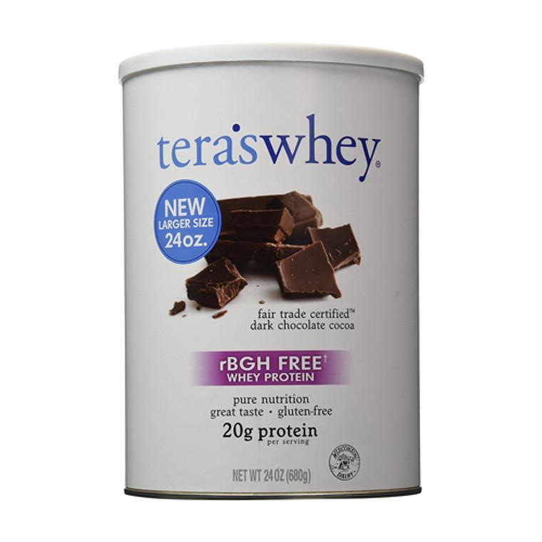 Teras Whey Protein Fair Trade Dark Chocolate Cocoa, 24 Oz