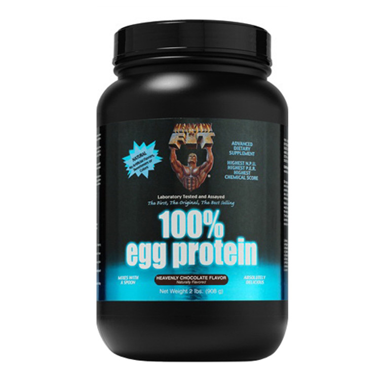 Healthy N Fit 100% Egg Protein Supplement Powder, Heavenly Chocolate, 2 Lbs