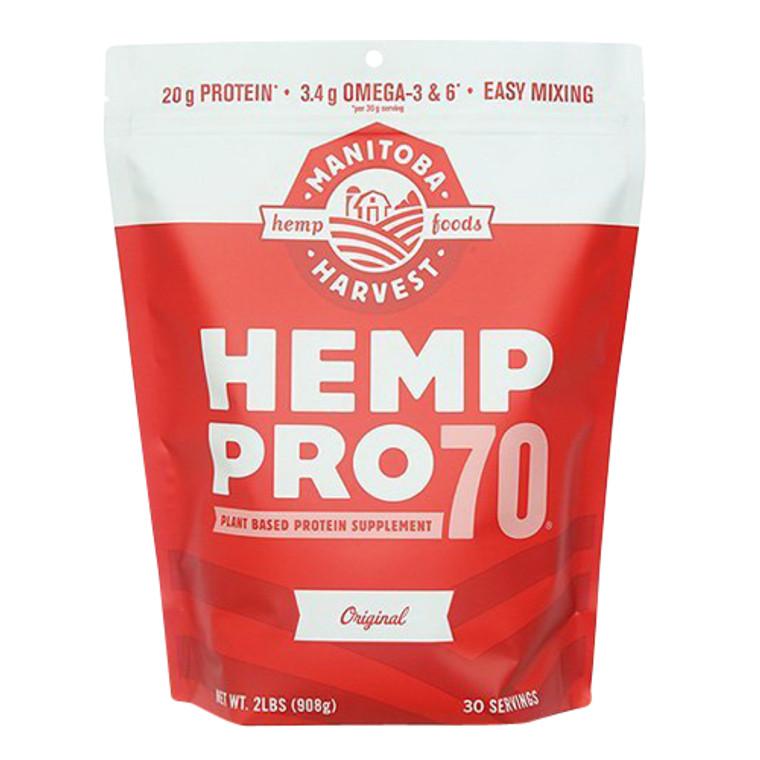 Manitoba Harvest Hemp Pro 70 Protein Supplement Powder, 32 Oz