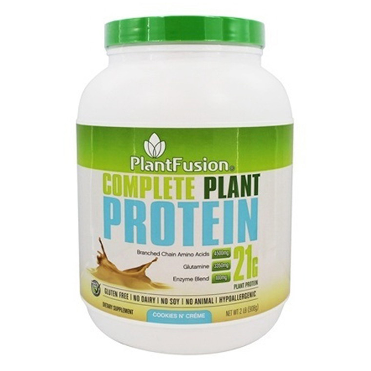 PlantFusion Complete Plant Protein Cookies N Creme, 2 Lb
