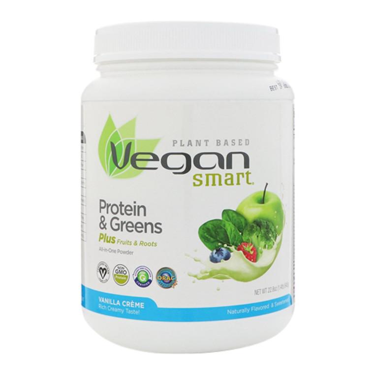 Naturade VeganSmart Protein And Greens All In One Powder Vanilla Creme 22.8 Oz
