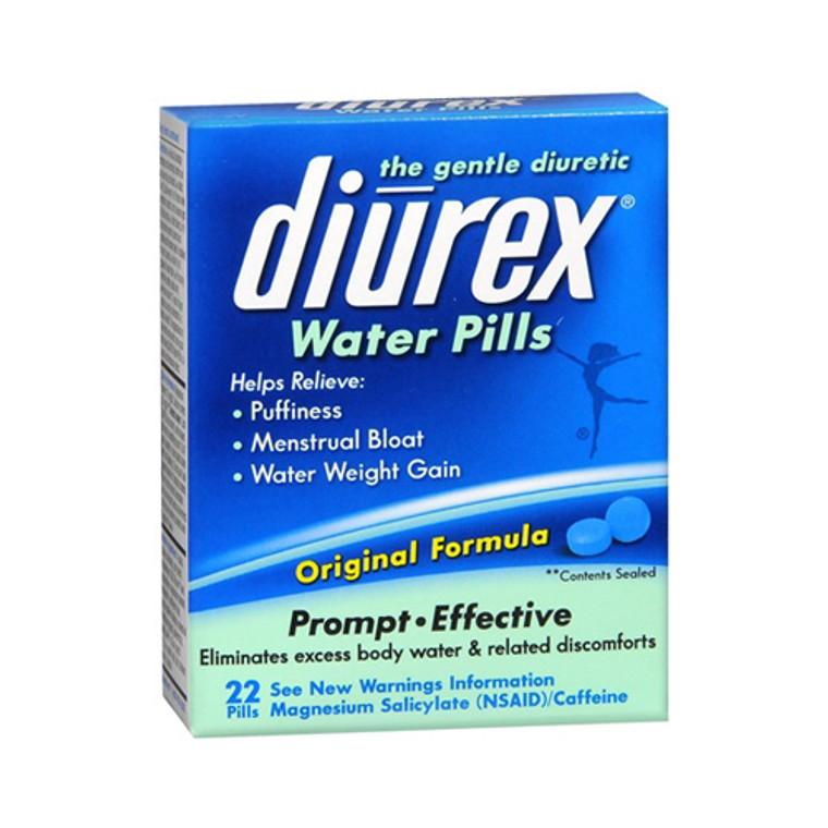 Diurex Water Pills, Advanced Formula - 22 Ea