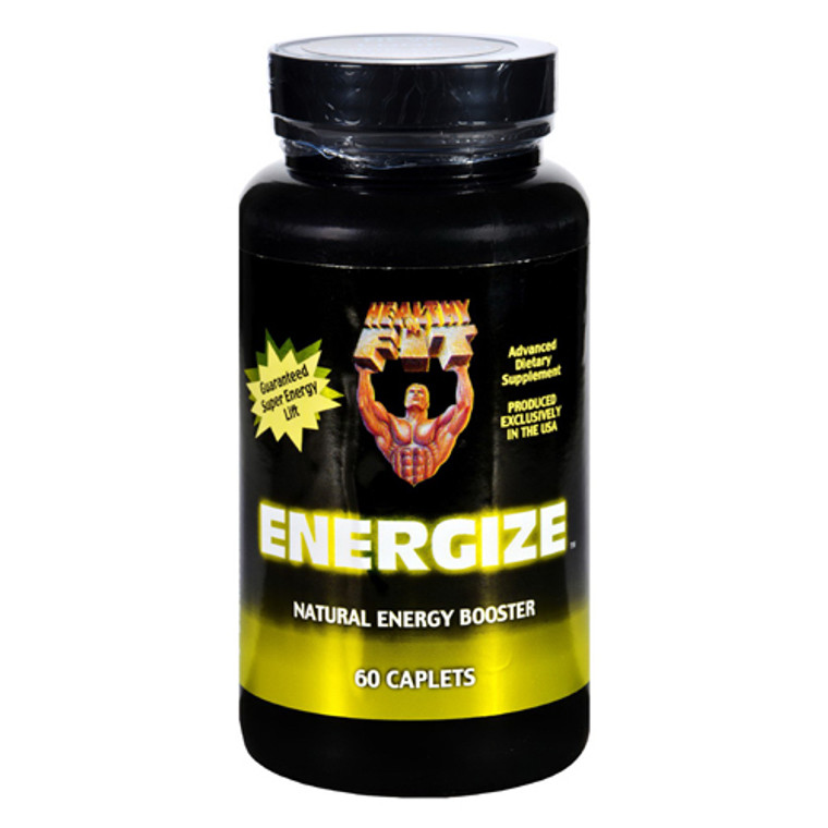 Healthy N Fit Energize Energy Booster Capsules, 60 Ea
