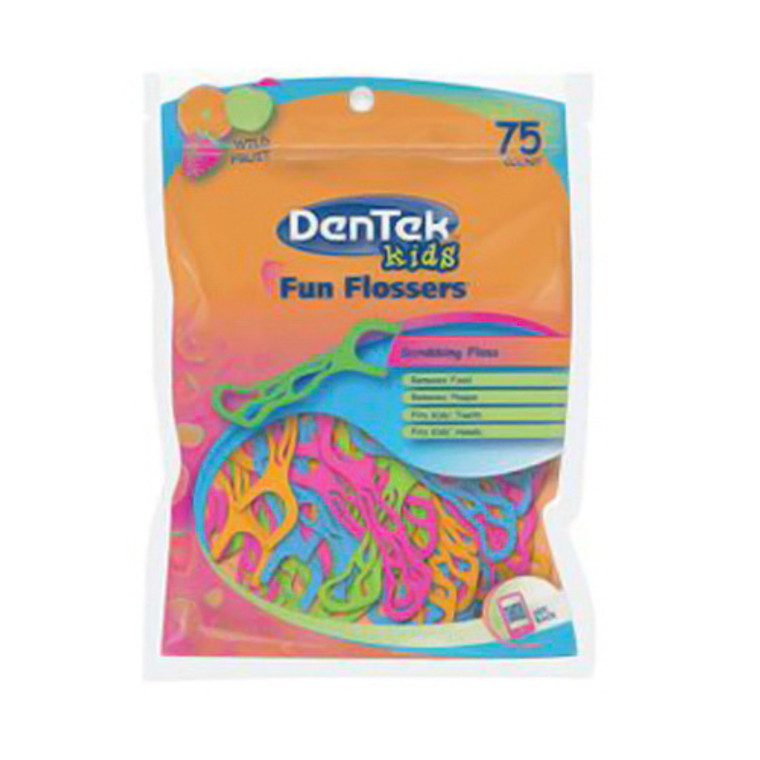 Dentek Kids Fun Flossers - 75 Ea