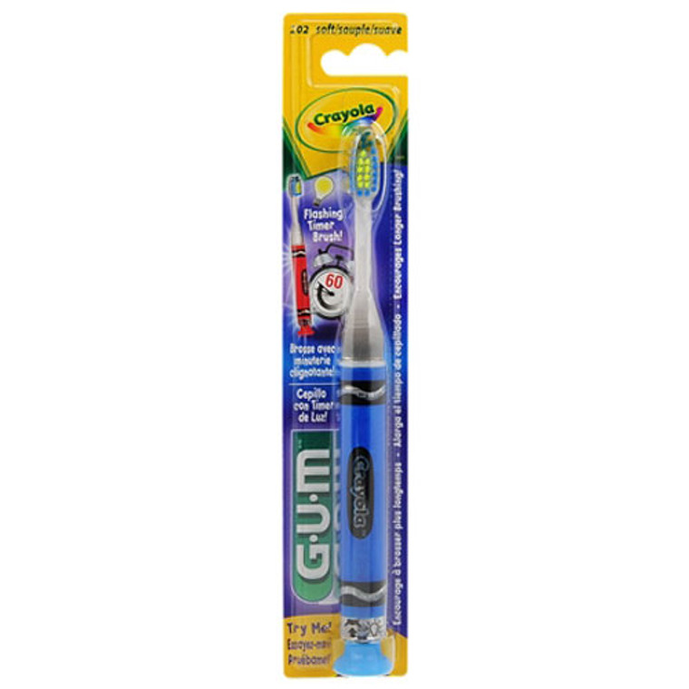 Butler G-U-M Crayola Childrens Marker Timer Light Toothbrush - 1 Ea