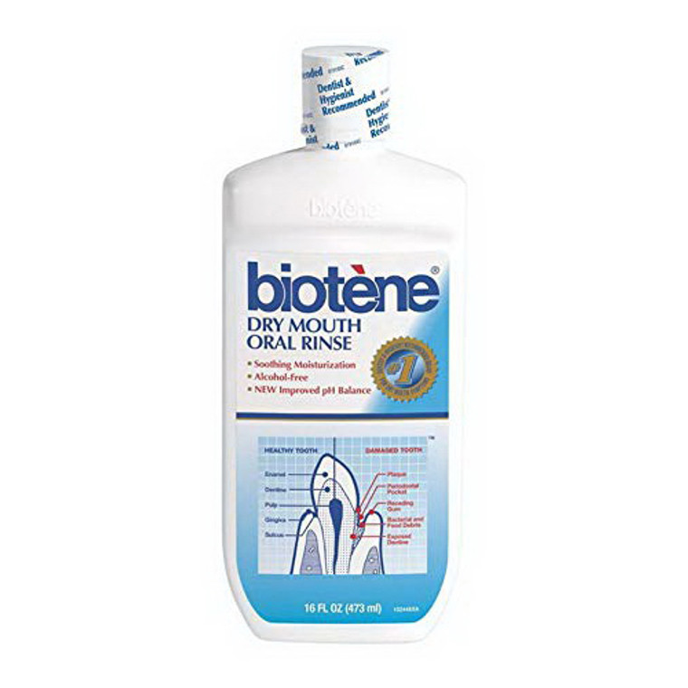 Biotene Dry Mouth Mouthwash - 16 Oz