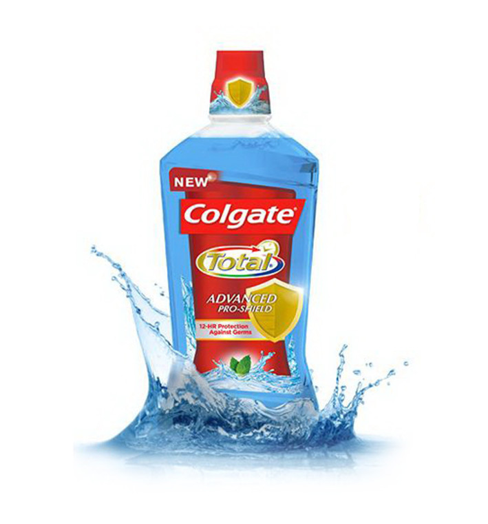 Colgate Total Advanced Pro-Shield Mouthwash, Peppermint Blast - 250 Ml