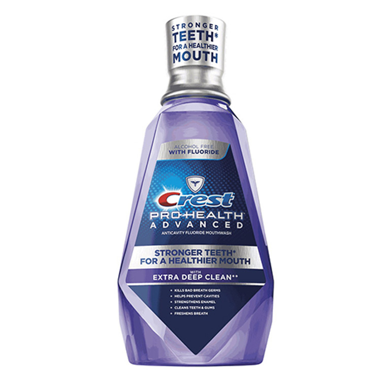Crest Pro-Health Advanced Mouthwash With Extra Deep Clean, Clean Mint - 16.9 Oz