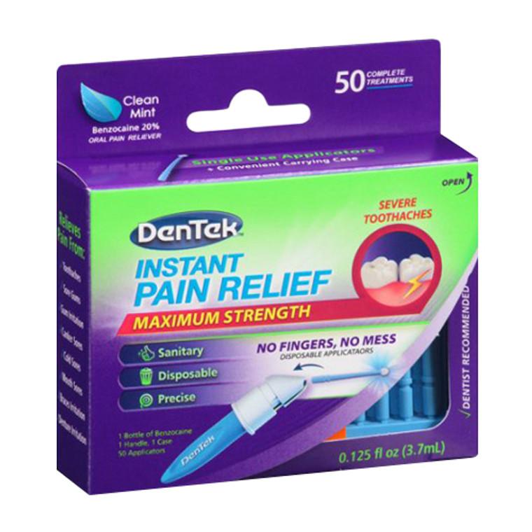 DenTek Instant Pain Relief, Maximum Strength, Clean Mint - 0.13 oz