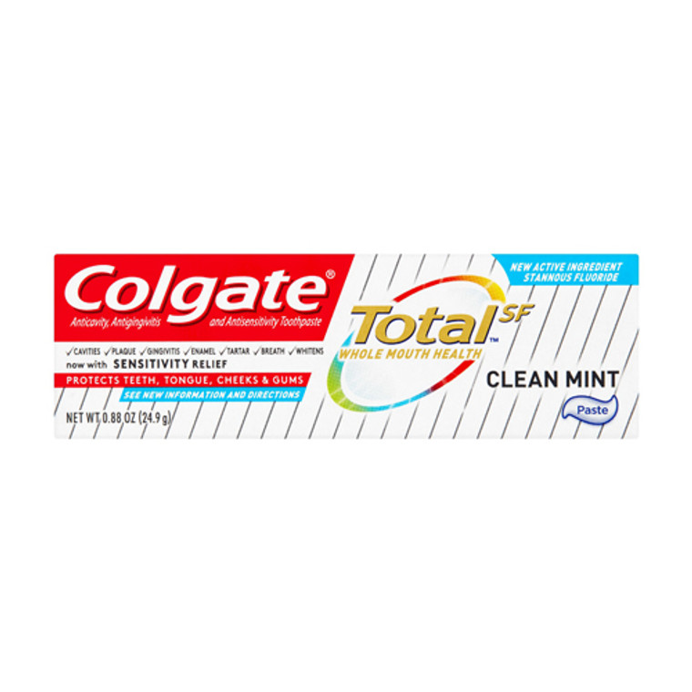 Colgate Total SF Clean Mint Toothpaste, 0.88 Oz