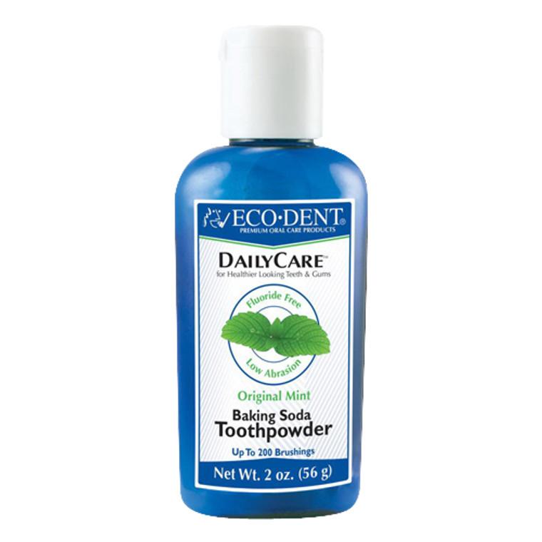 Eco Dent Daily Care Toothpowder, Original Mint - 2 oz