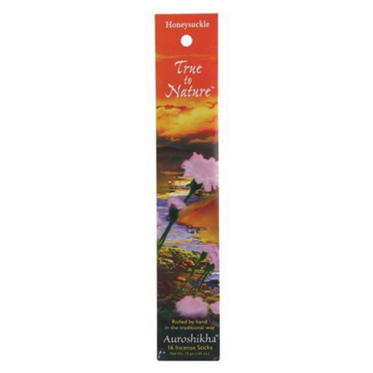 Auroshikha True To Nature Honeysuckle Incense Sticks - 10 Gm