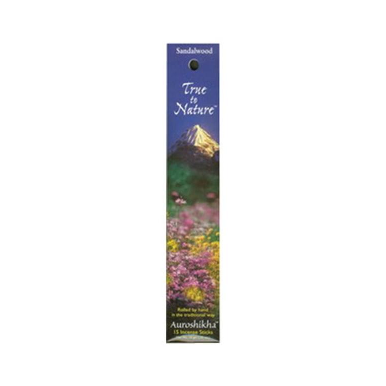 Auroshikha True To Nature Sandalwood Incense Sticks - 10 Gm