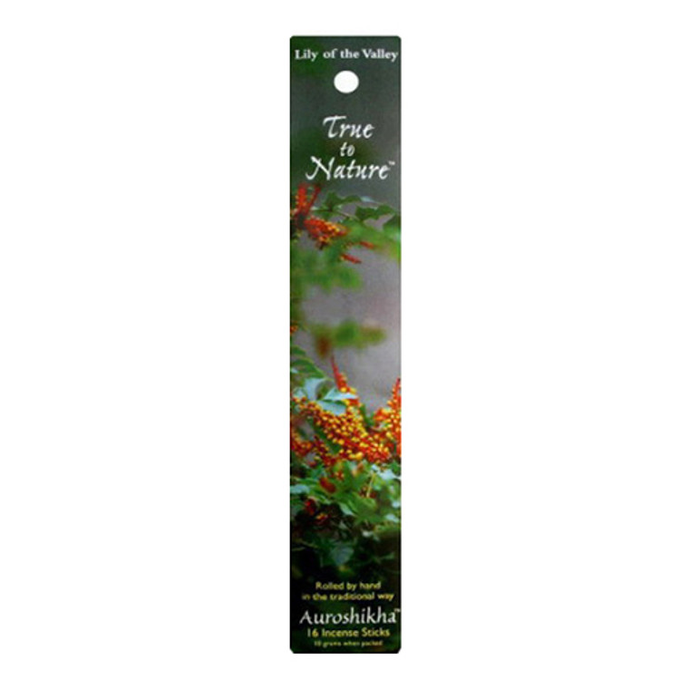 Auroshikha True To Nature Lily Of The Valley Incense Sticks - 10 Gm