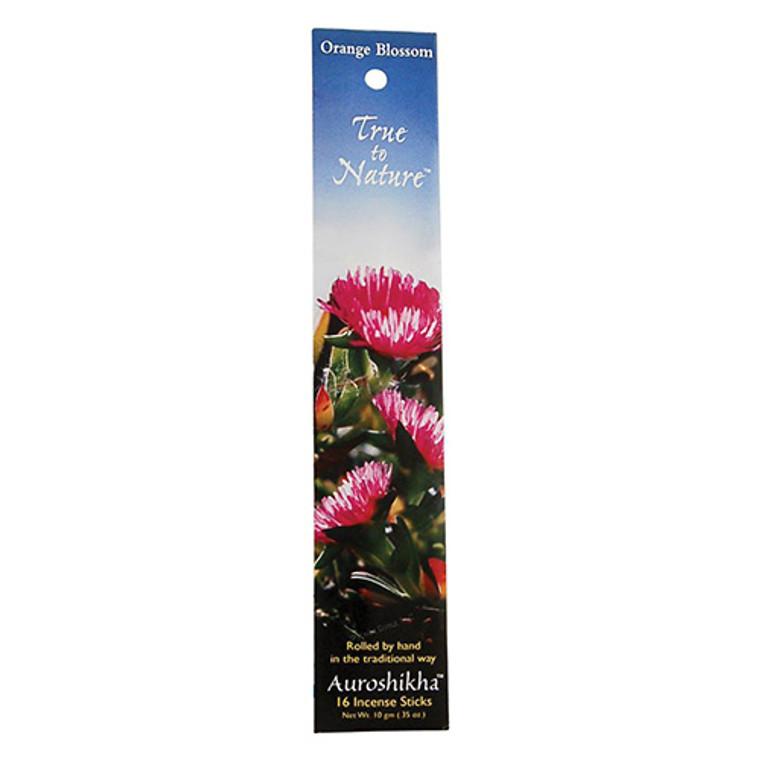 Auroshikha True To Nature Orange Blossom Incense Sticks - 10 Gm