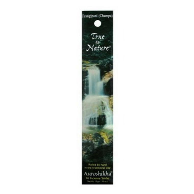 Auroshikha True To Nature Perfection (Frangipani) Incense Sticks - 10 Gm