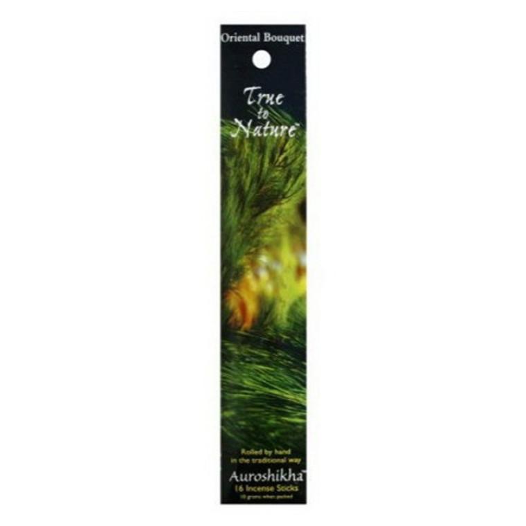 Auroshikha True To Nature Oriental Bouquet Incense Sticks - 10 Gm