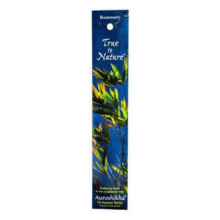 Auroshikha True To Nature Rosemary Incense Sticks - 10 Gm