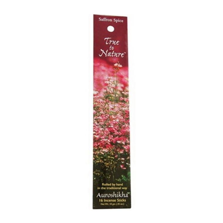 Auroshikha True To Nature Saffron Spice Incense Sticks - 10 Gm