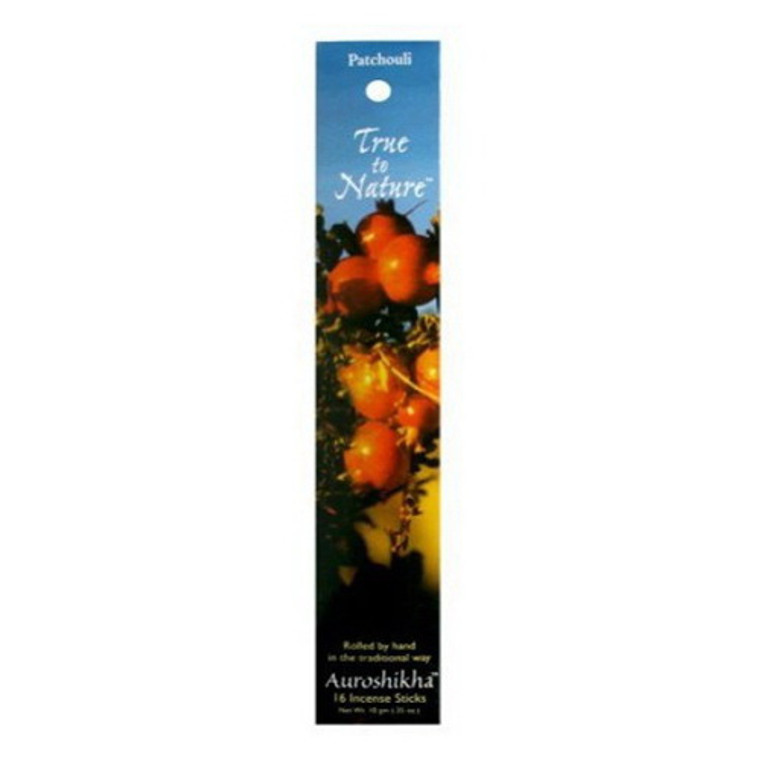 Auroshikha True To Nature Singapore Patchouli Incense Sticks - 10 Gm
