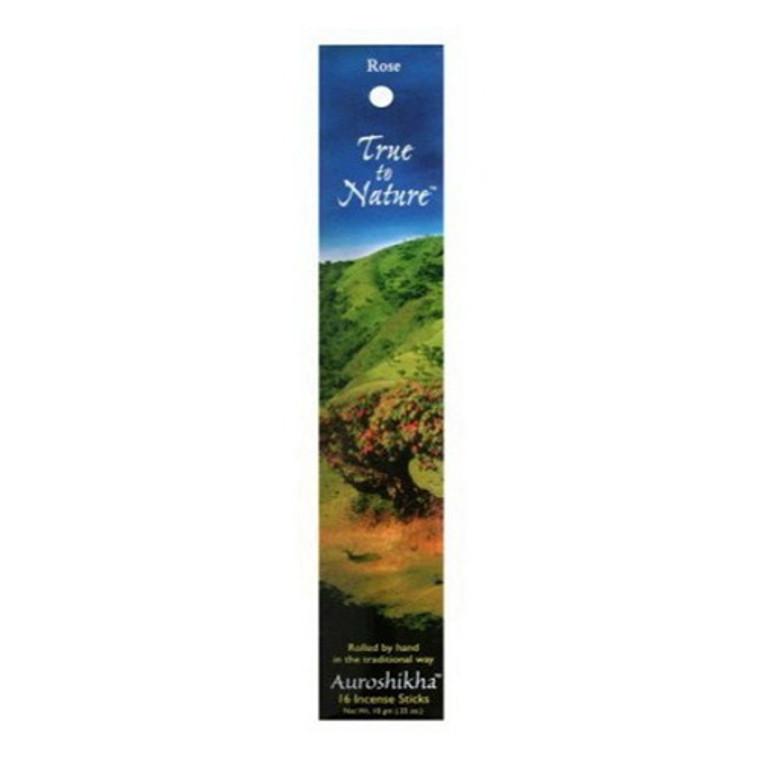 Auroshikha True To Nature Surya Rose Incense Sticks - 10 Gm