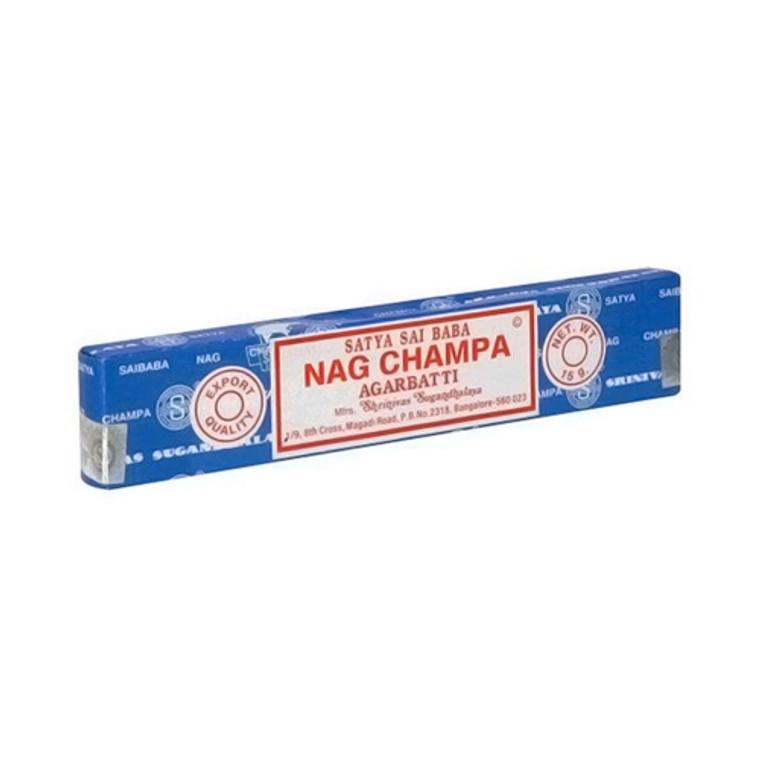 Satya Sai Baba Nag Champa Agarbatti Incense - 15 Grams