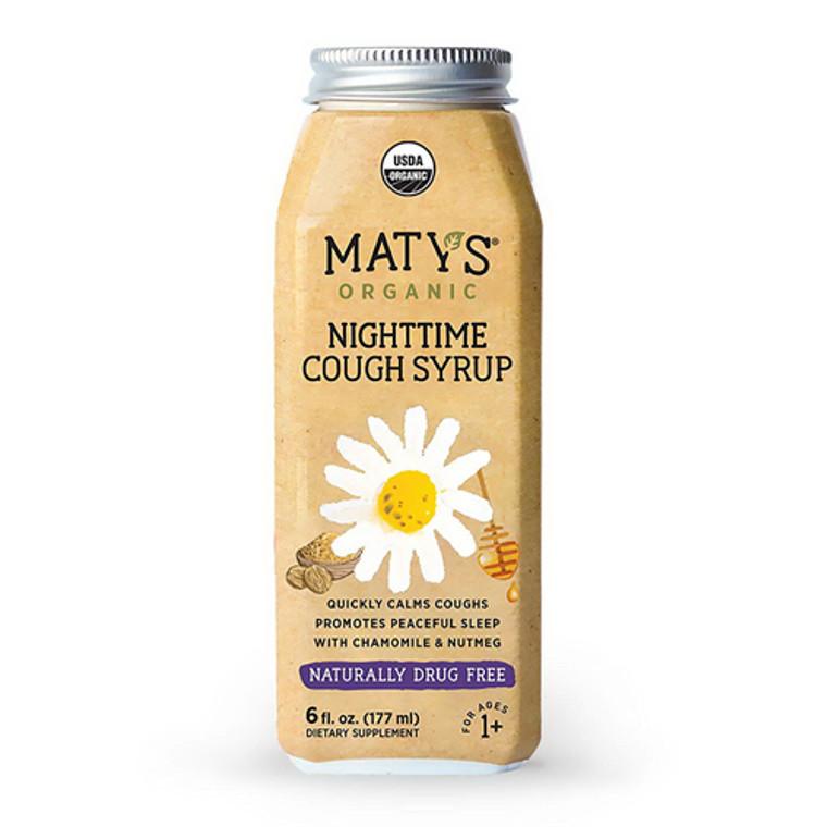 Matys Organic Nighttime Cough Syrup for Kids, 6 Oz