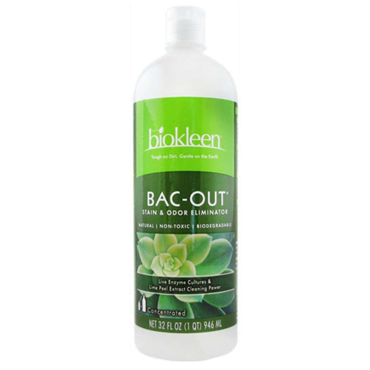Biokleen Bac-Out Stain And Odor Eliminator - 32 Oz