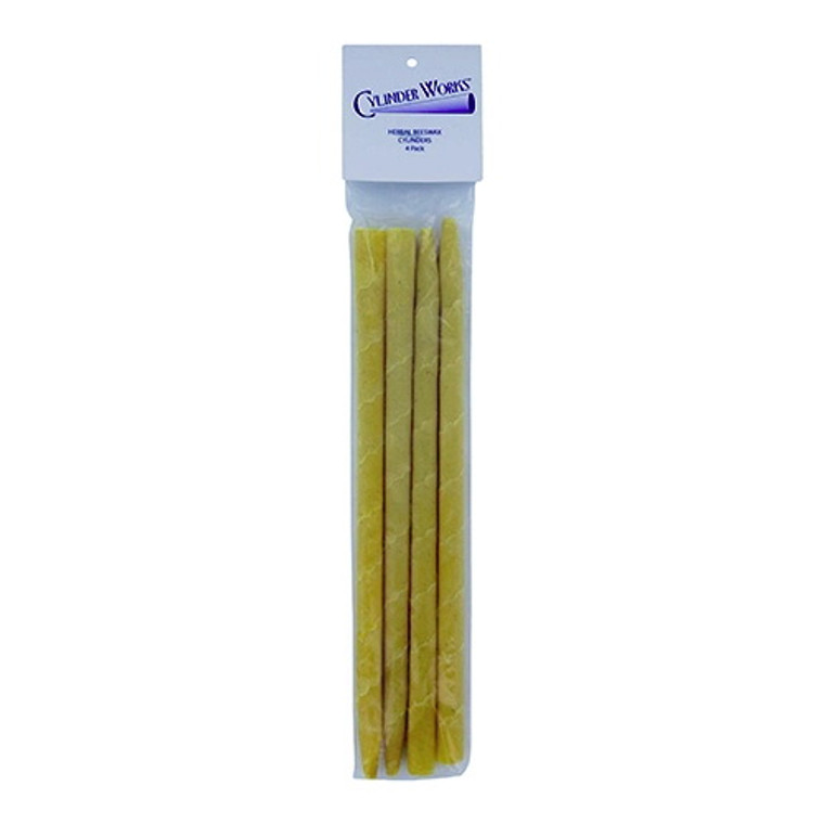 Cylinder Works Herbal Beeswax Ear Candles - 4 ea