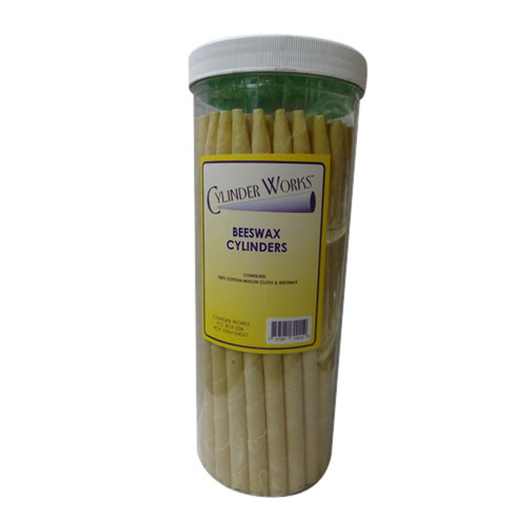 Cylinder Works Herbal Beeswax Cylinders Ear Candles, 50 ea/Pack