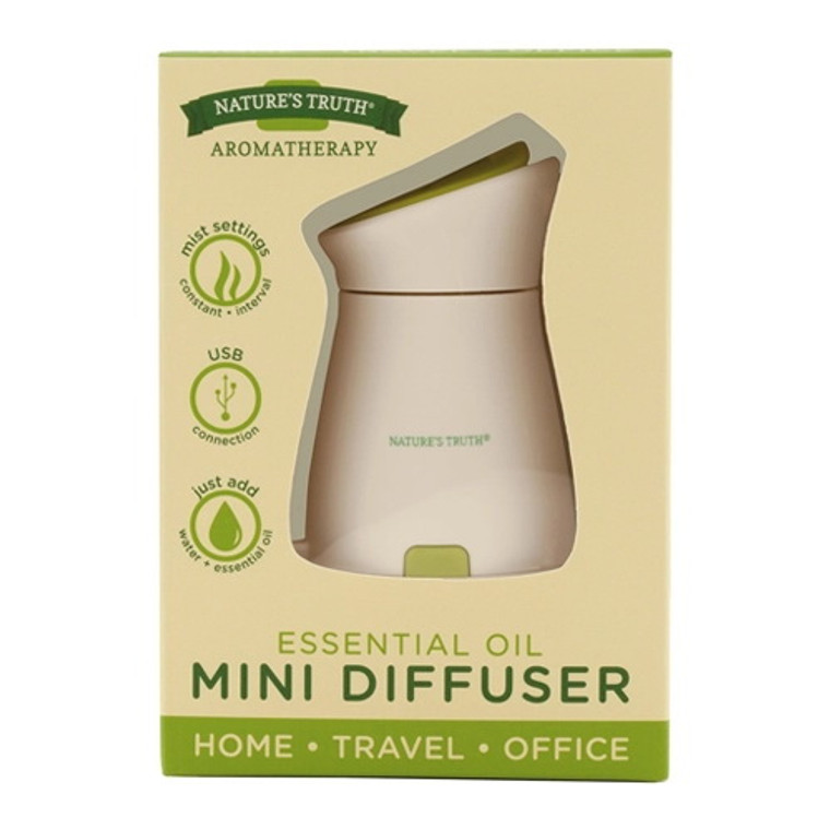 Natures Truth Essential Oil Mini Diffuser, 1 Ea