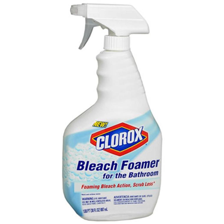 Clorox Bleach Bathroom Foamier, 30 Oz