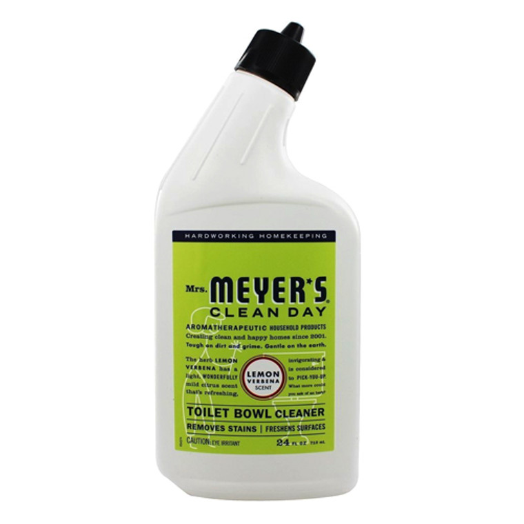 Mrs Meyers Clean Day Toilet Bowl Cleaner, Lemon Verbena, 24 Oz