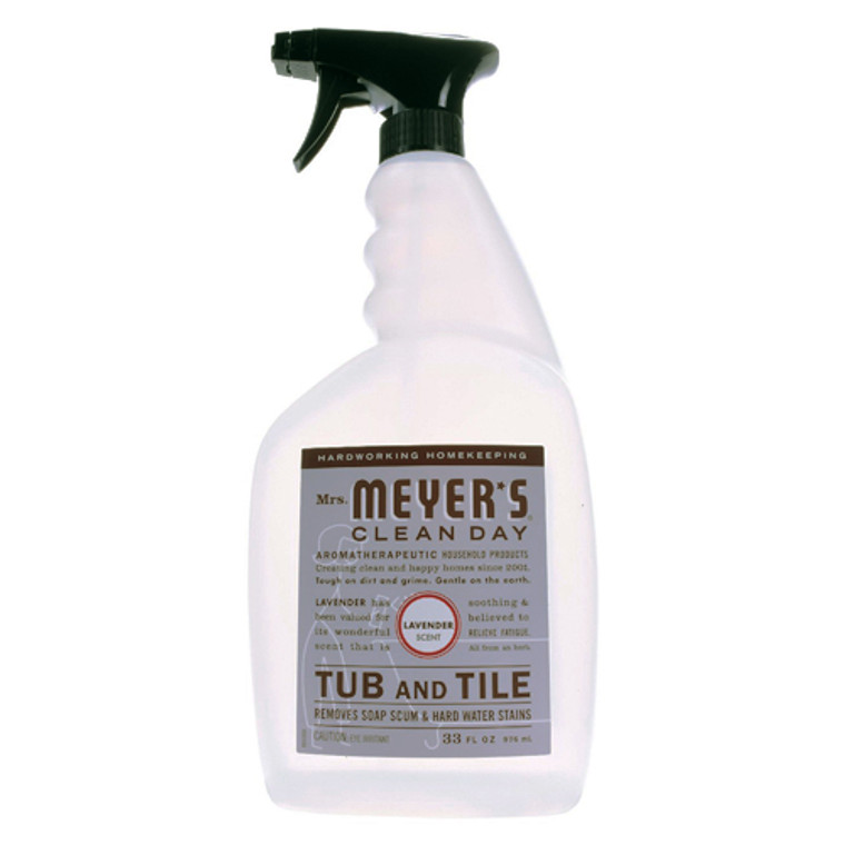 Mrs. Meyers Clean Day Tub and Tile Cleaner With Lavender Scent, 33 OZ