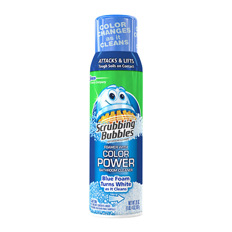 Scrubbing Bubbles Bathroom Cleaner, Foamer with Color Power, 20 Oz