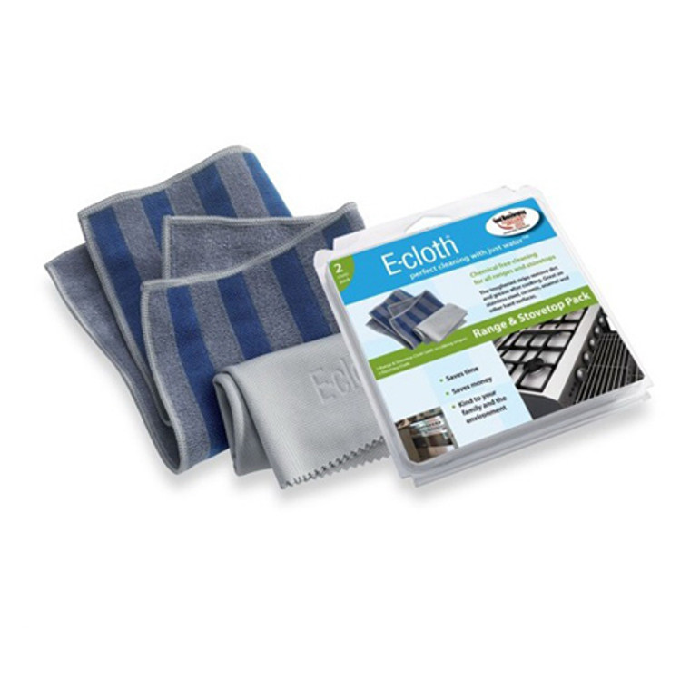 E-Cloth Range And Stovetop Microfiber And Scrubbing Cleaning Cloth  - 2 Ea