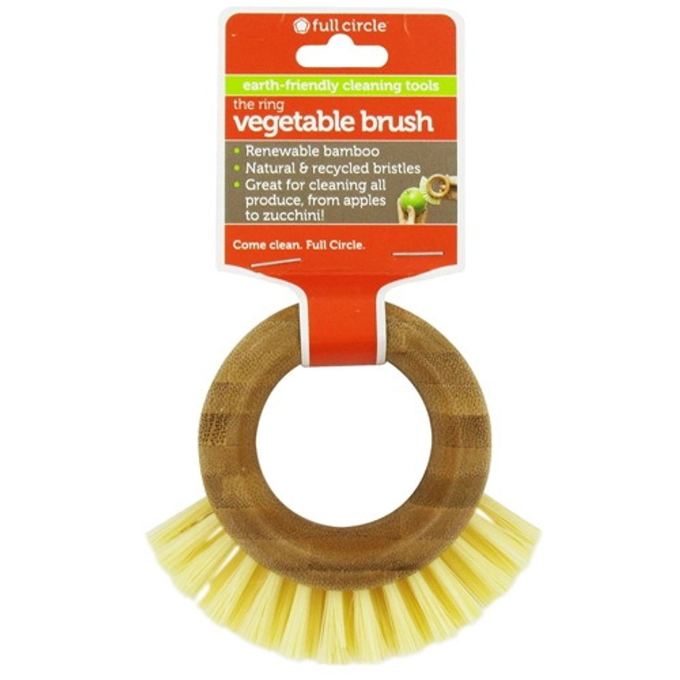 Full Circle The Ring Vegetable Brushcome Clean - 1 Ea
